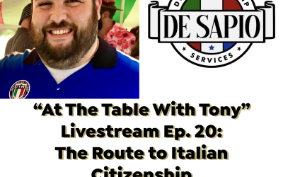 """""""At the Table with Tony"""" – Ep. 20 – The Route to Dual Citizenship"""